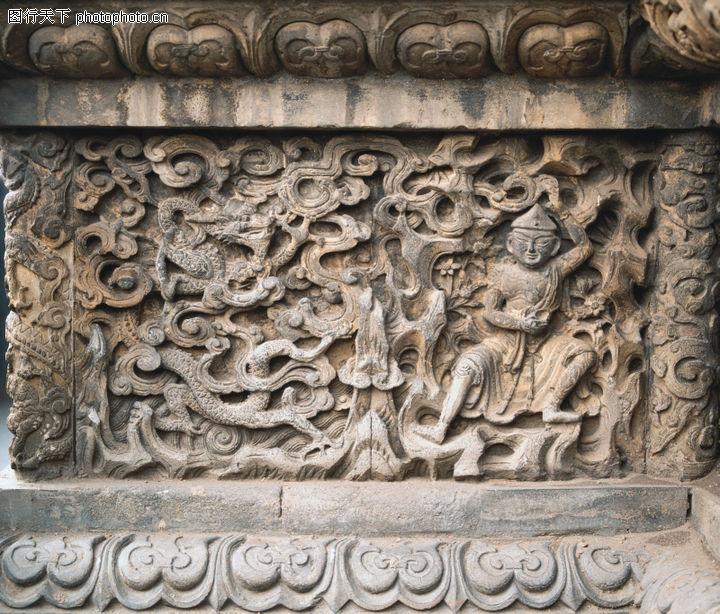 花纹墙饰,纹饰雕塑,神像 花纹 宗教,花纹墙饰0096