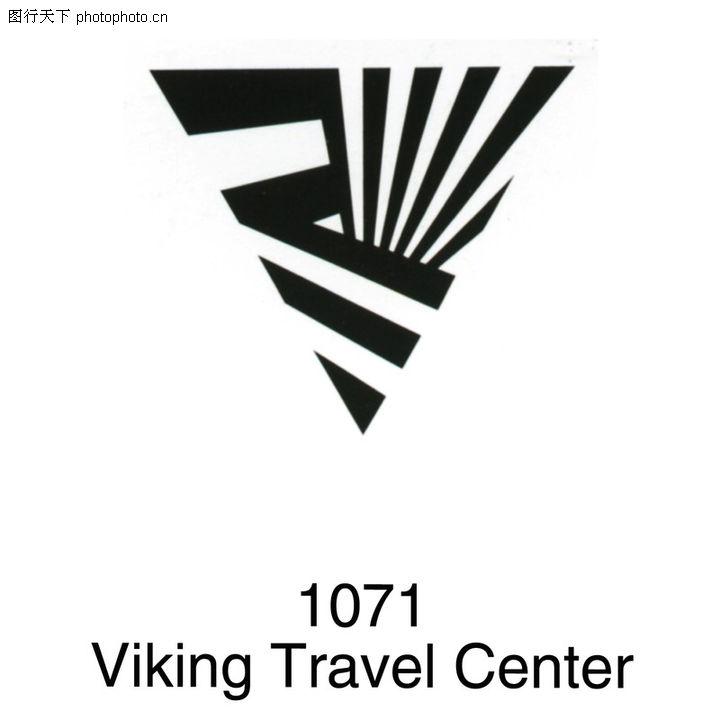 旅行社0035-旅行社图-世界标识图库-Viking 1071 三角形