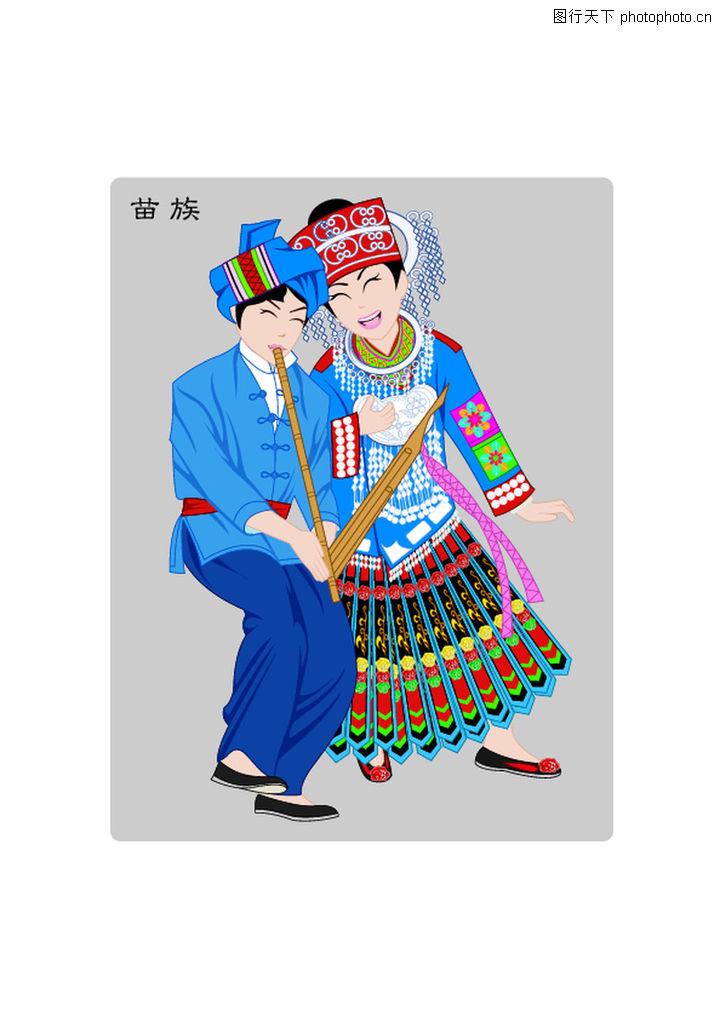 中国有五十六个少数民族每个少数民族的名字是什么