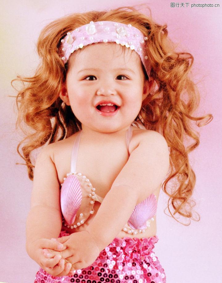 大笑小孩可爱头像