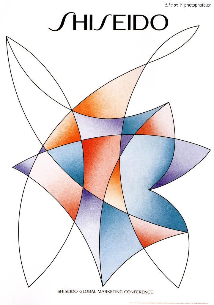 山形季央的设计,广告,变形 平面构成 缠绕 渐变 曲线,山形季央的设计