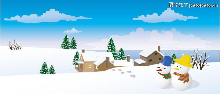 冬天打雪仗简笔画_漫画人物简笔画大全一起来打雪仗_人物简笔画