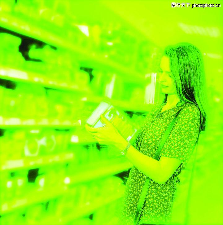购物场景,生活,超市 采购 商品,购物场景0020