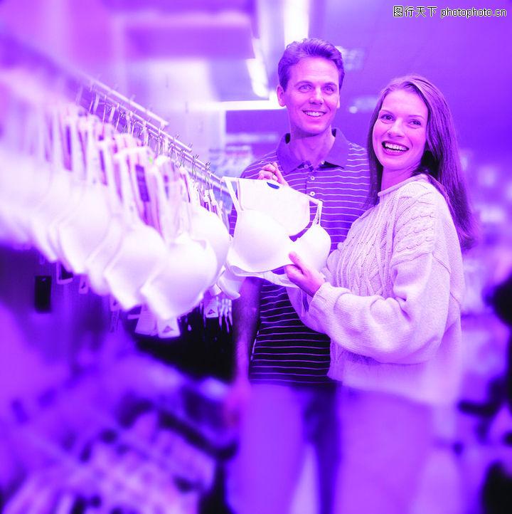 购物场景,生活,内衣 文胸 商场,购物场景0025