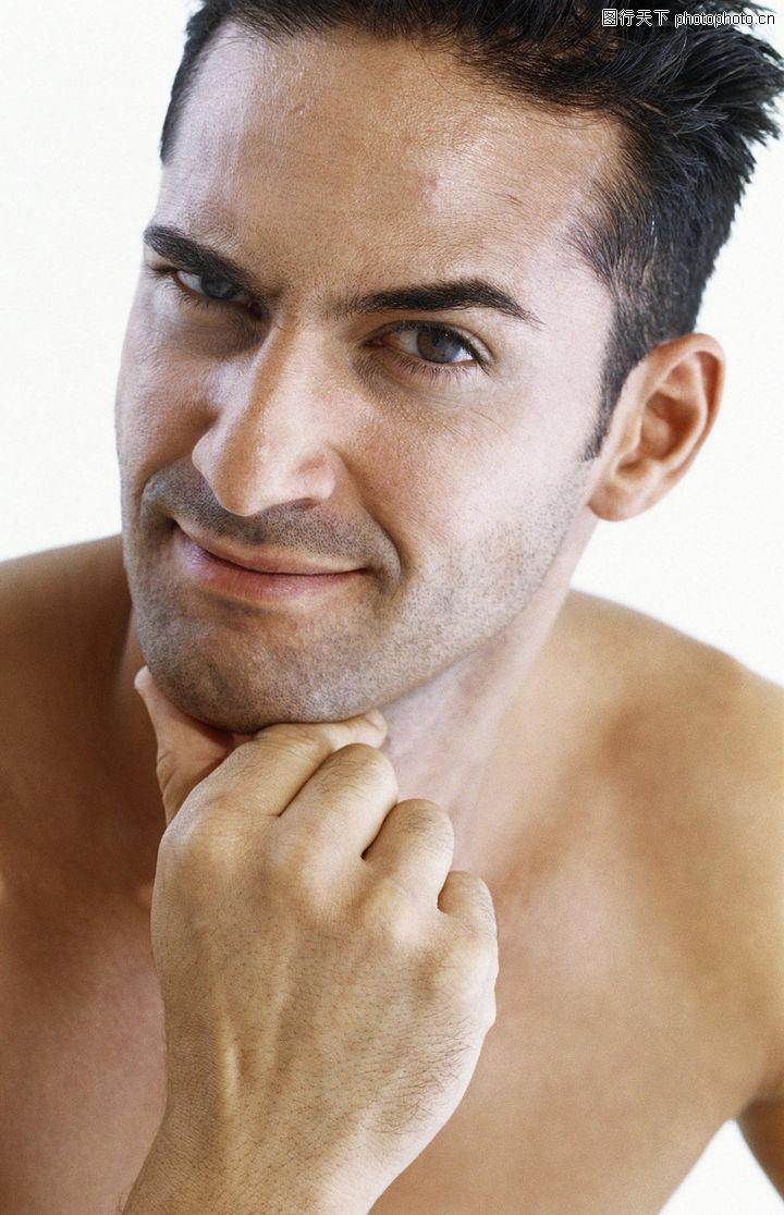 男性健康,美容,表情 面孔 五官,男性健康0036