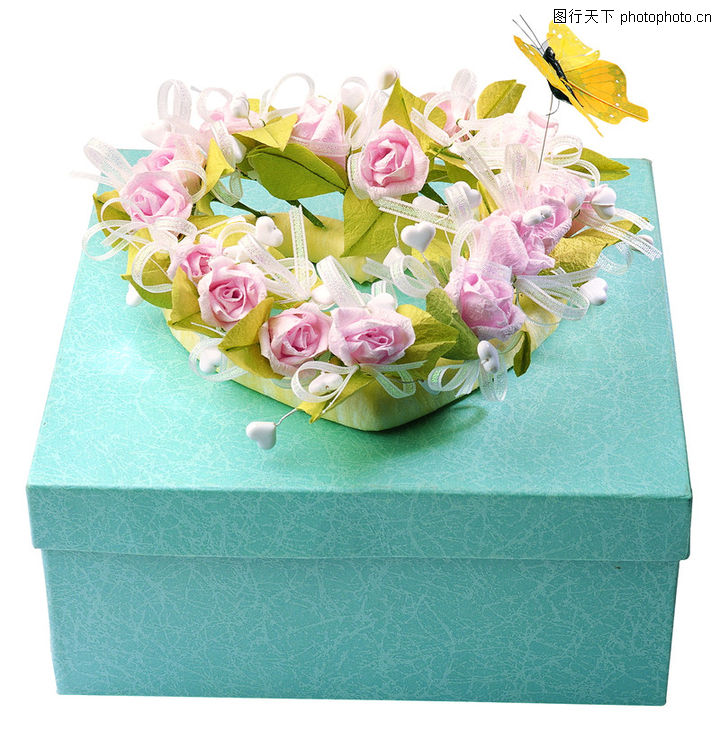 礼物,静物,花环 背景 摆放,礼物0089