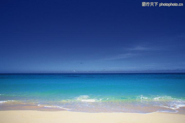 海滩,风景,桌面 海景 宽阔 浪花 蓝天,海滩0017