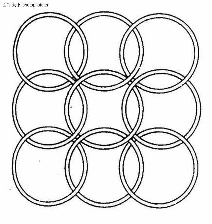 简笔几何可爱图案