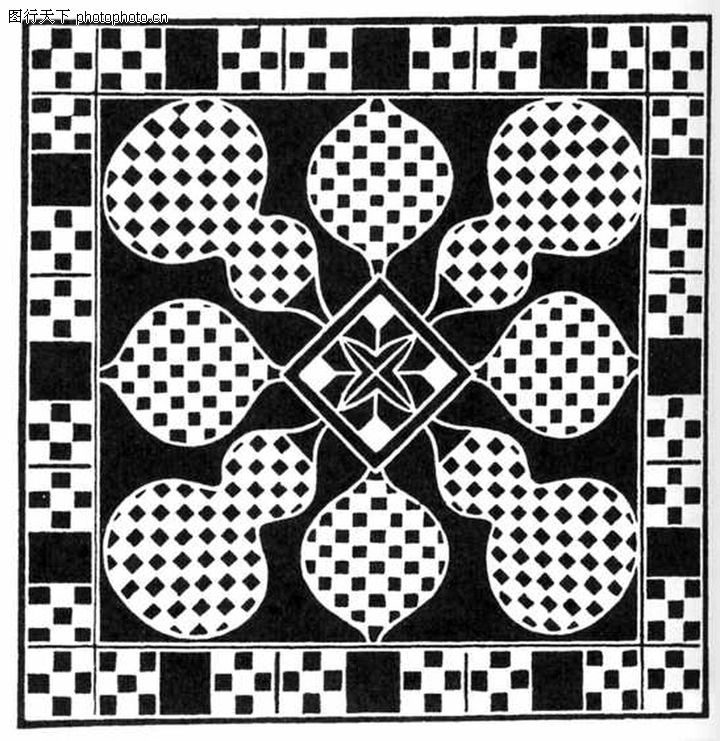 几何花纹0873