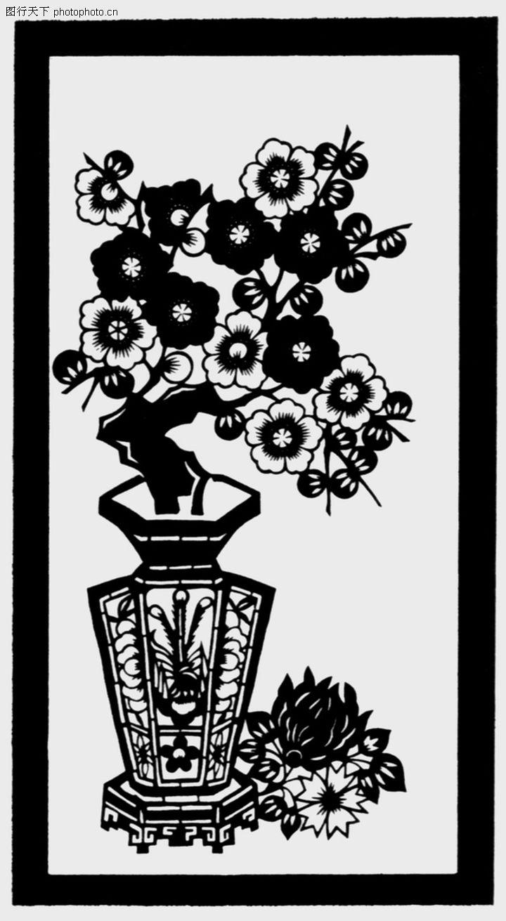 植物图案花纹,中国民间艺术