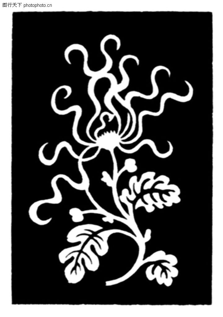 植物图案花纹,中国民间艺术,植物图案花纹0291