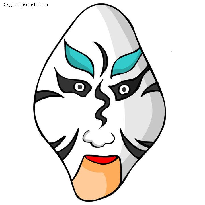 首页 设计图库 中国民间艺术 脸谱 >>脸谱0466.