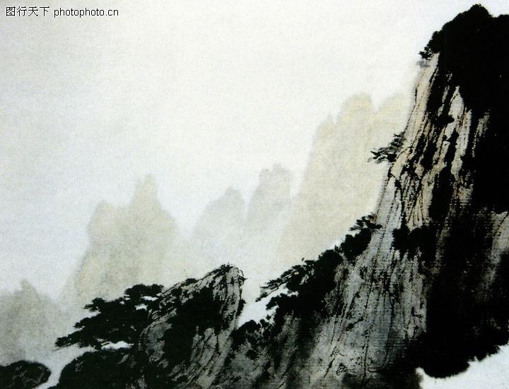 六位大师画黄山风景