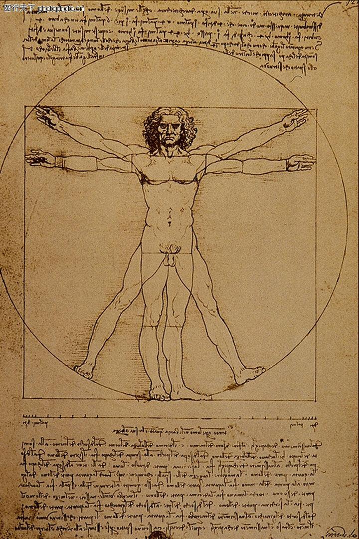人物素描,国外传世名画,人物身体,人物素描0066