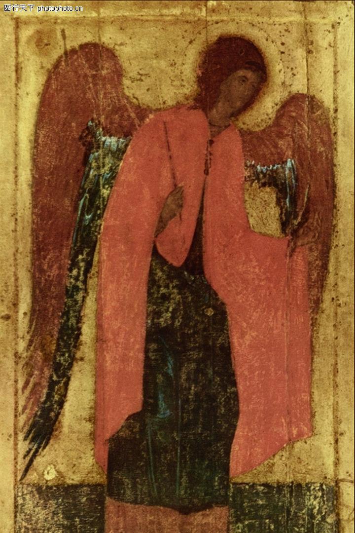 埃及壁画,国外传世名画,埃及壁画0050