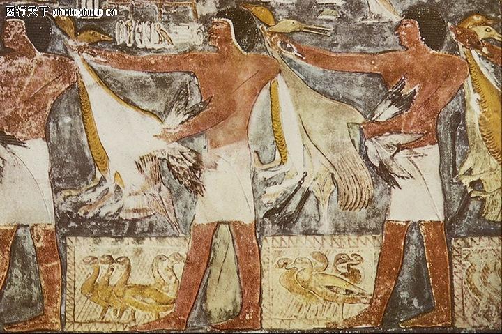 埃及壁画,国外传世名画,埃及壁画0066