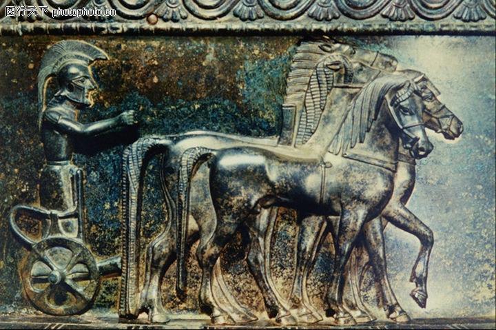 埃及壁画,国外传世名画,埃及壁画0084