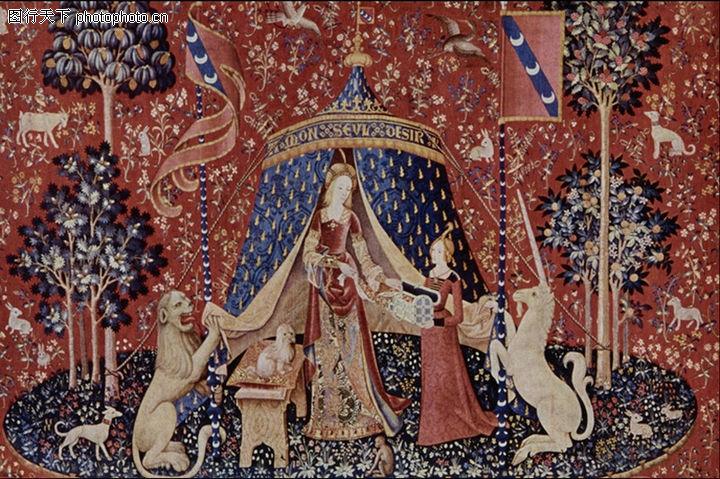 埃及壁画,国外传世名画,埃及壁画0087