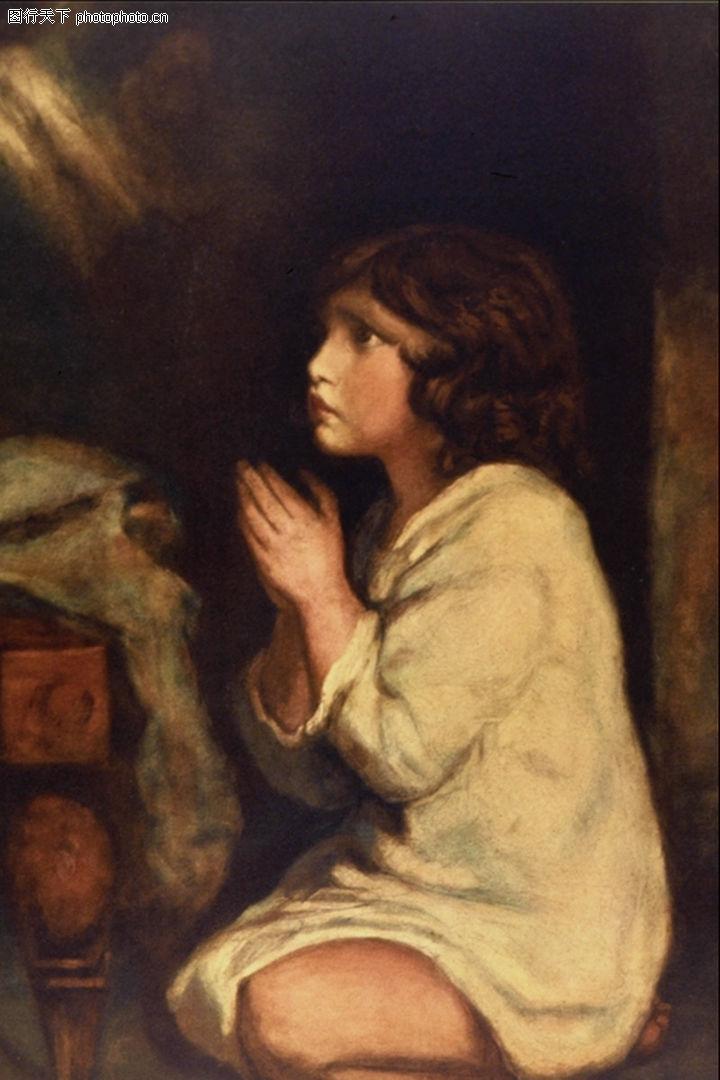双手合十祈祷男头像