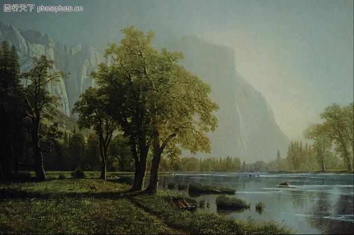 風景油畫,國外傳世名畫