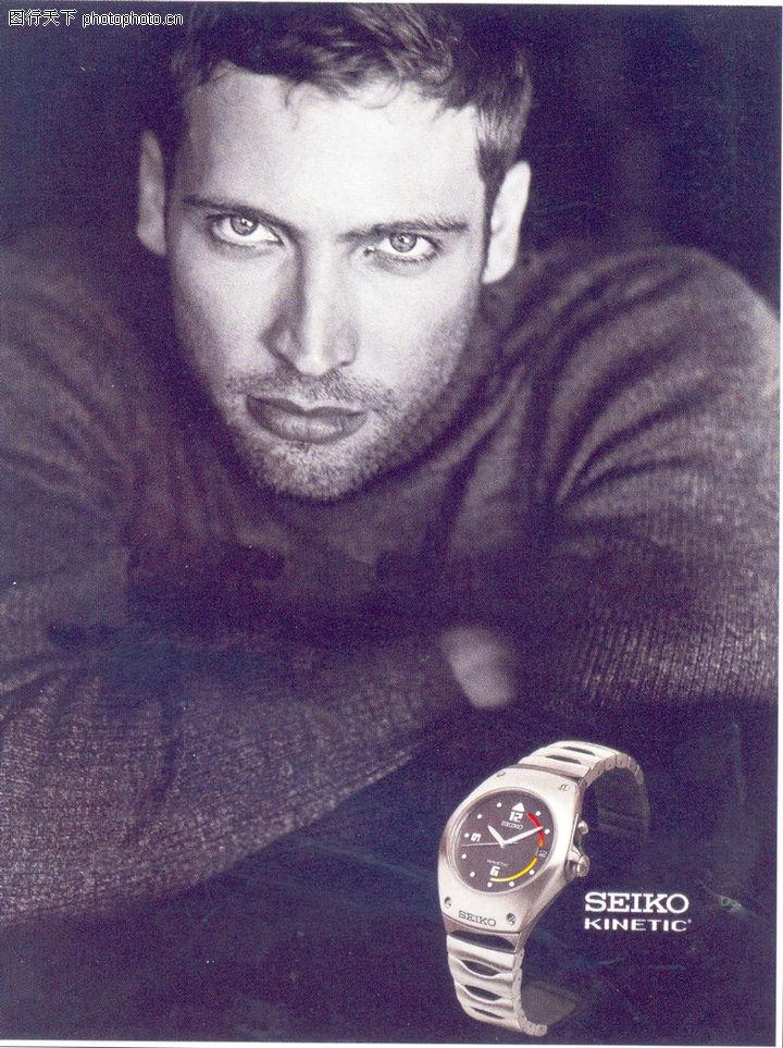 珠宝手表广告创意 国际知名品牌广告创意 男式手表