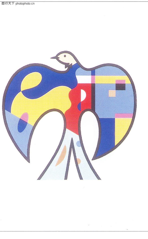 日本广告作品专辑,鸽子 色彩 寓意,日本平面设计年鉴20050045