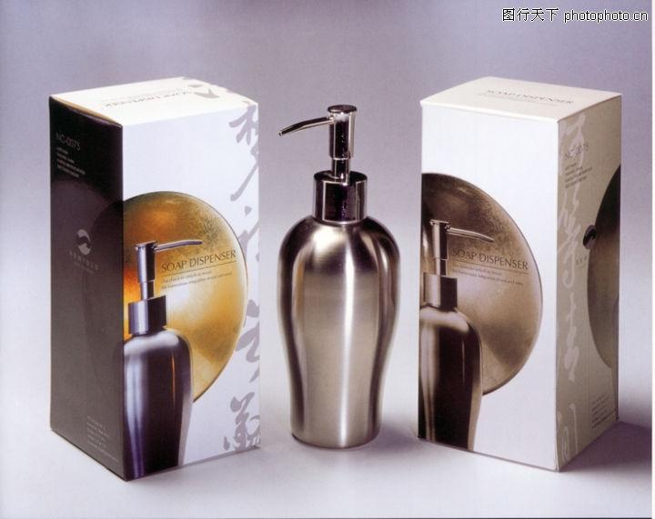 日用品 华文设计年鉴-包装卷 金属质感 圆形 化妆品
