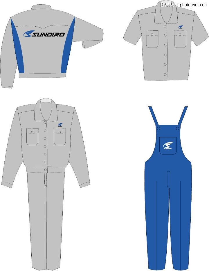 新大洲vi,整套vi矢量素材,衣服 服装 套装,新大洲vi0046