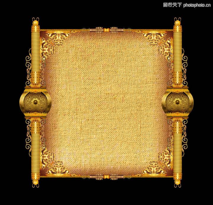 古典边框0222-古典边框图-设计组件素材图库