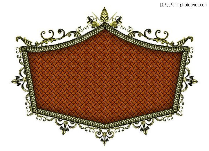 金属边框,设计组件素材,金属边框0045