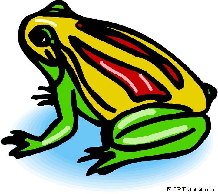 一年级美术画画青蛙