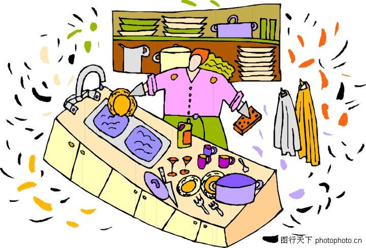 女性漫画0041-漫画人物图-厨房图库-福利做饭吧女性番漫画图片