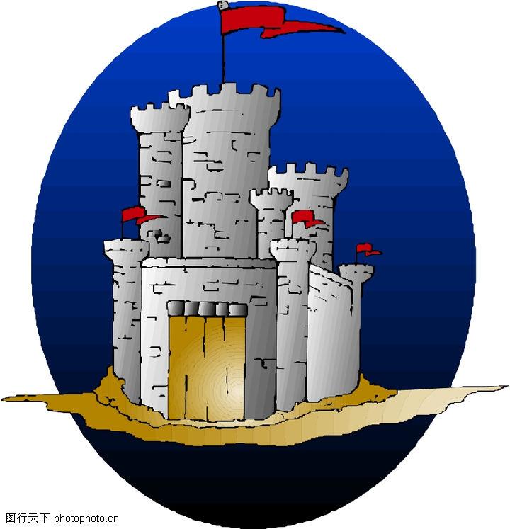 卡通建筑,名胜地理,卡通建筑0027