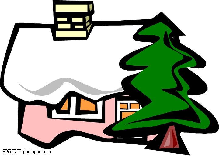 卡通建筑,名胜地理,卡通建筑0058