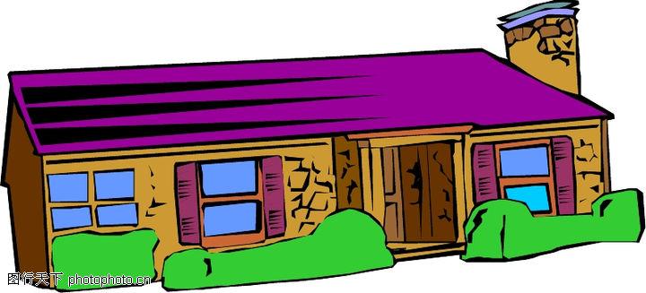 卡通建筑,名胜地理,卡通建筑0576