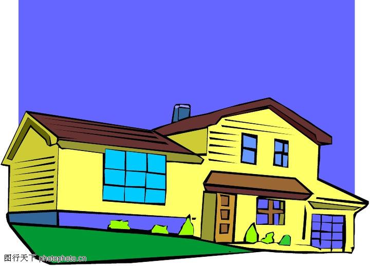 卡通建筑,名胜地理,卡通建筑0578