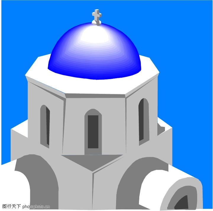 宗教建筑,宗教习俗,宗教建筑0030