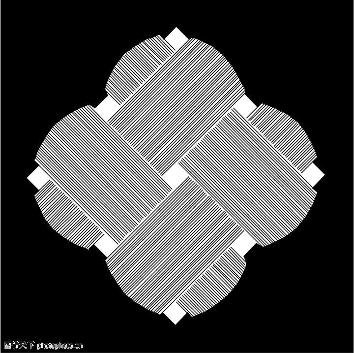 亚洲图案,微章图案,亚洲图案0285