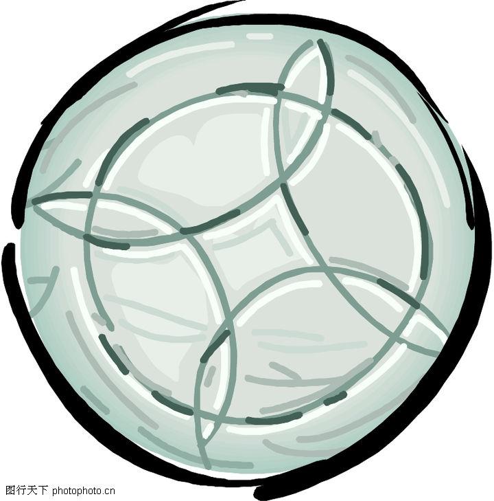 圆形形图案,微章图案,圆形形图案0306