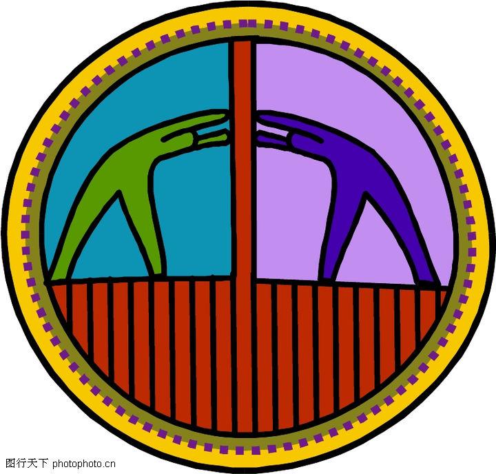 圆形形图案,微章图案,圆形形图案0322