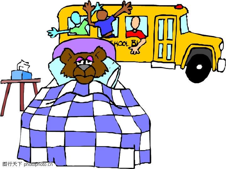 动物拟人化卡通,拟人卡通,车子,动物拟人化卡通0056
