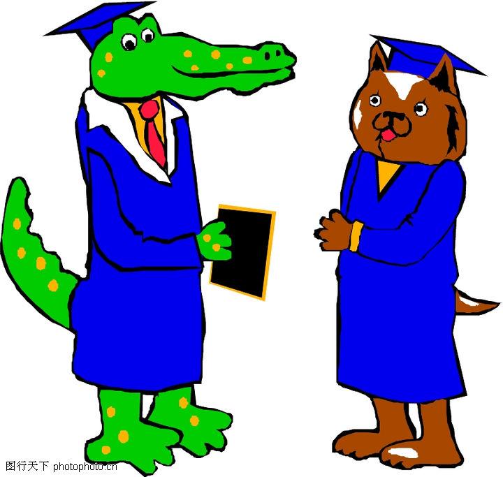 动物拟人化卡通,拟人卡通,动物拟人化卡通0111