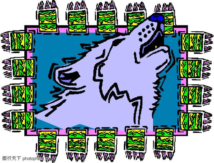 动物拟人化卡通,拟人卡通,动物拟人化卡通0114