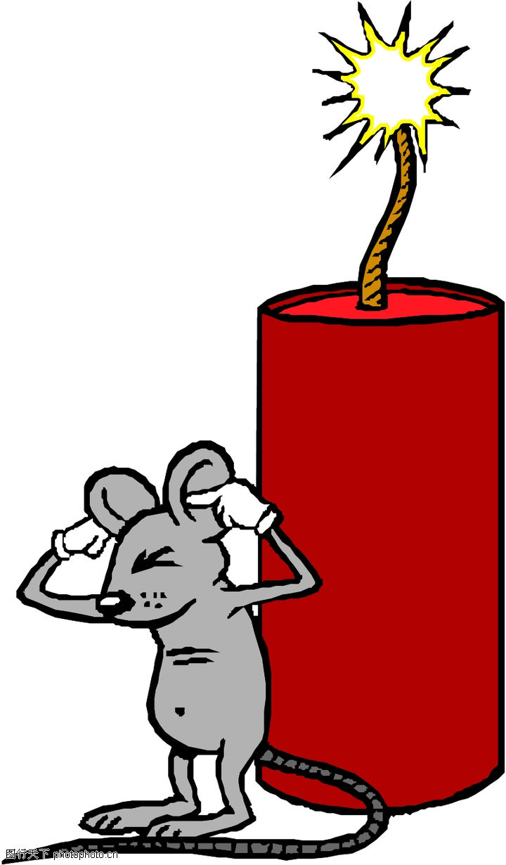 烟花卡通图片_新年烟花卡通图片