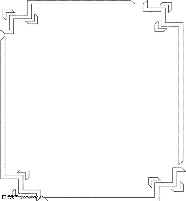 幼儿园墙饰边框布置; 商标0020;