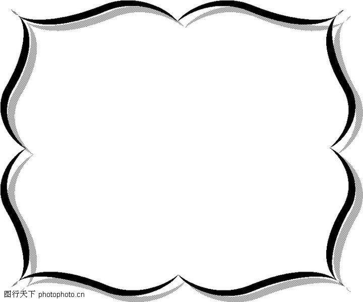 长方形图片边框
