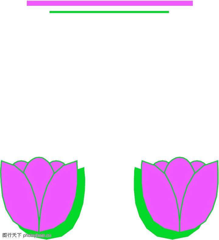 边框背景 边框背景 鲜花装饰图
