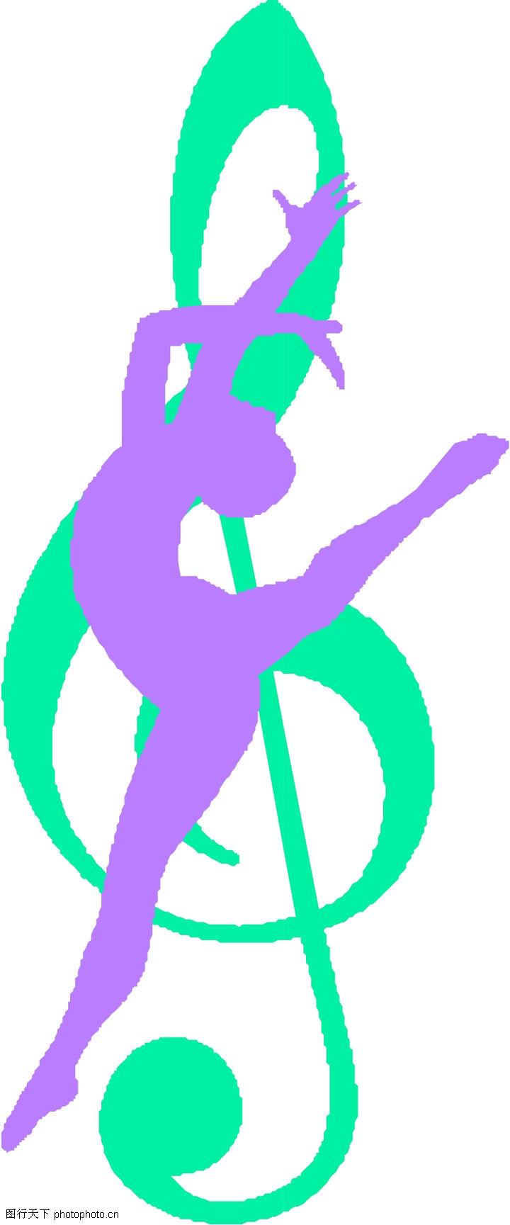 音符 音乐舞蹈