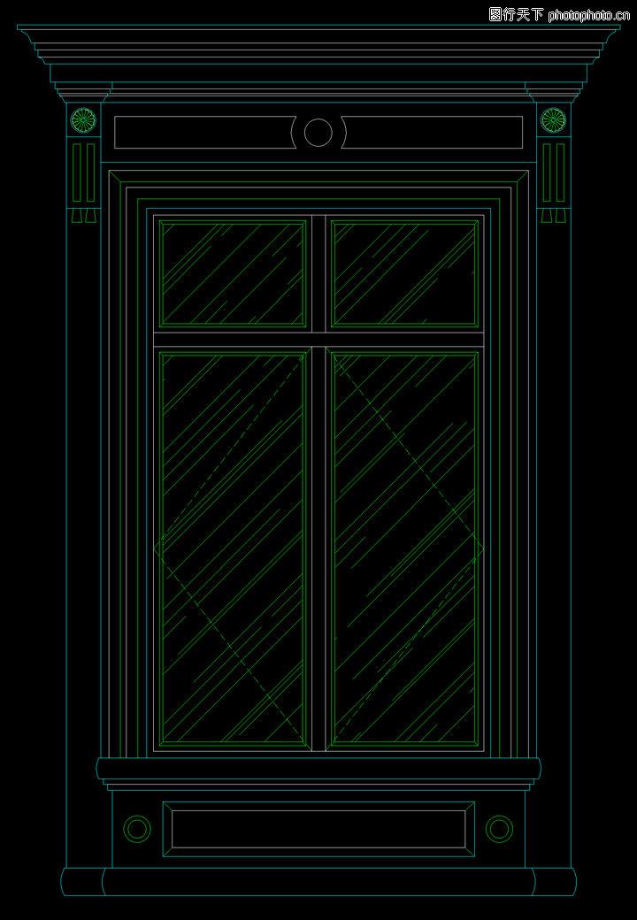 欧式格窗户