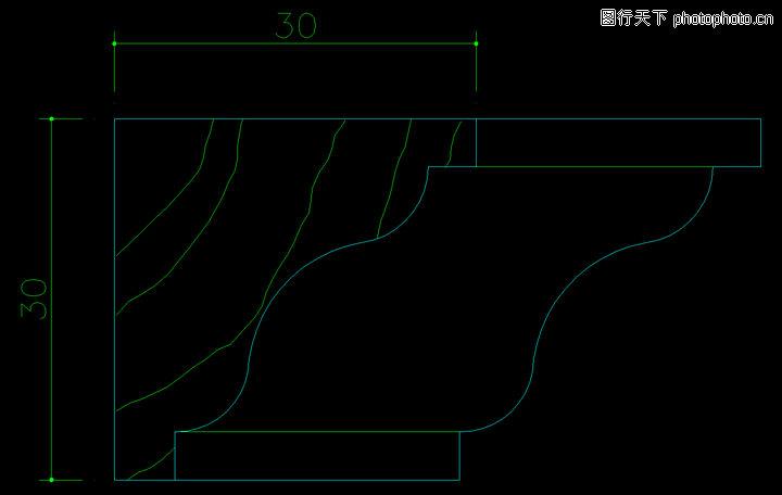 木线,饰线,木线0073